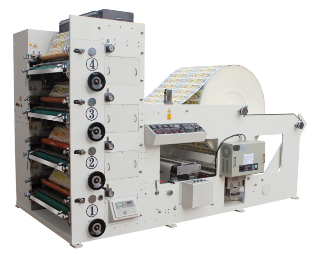 Flexo Roll Paper Printing Machine(1-6color) - 副本2097